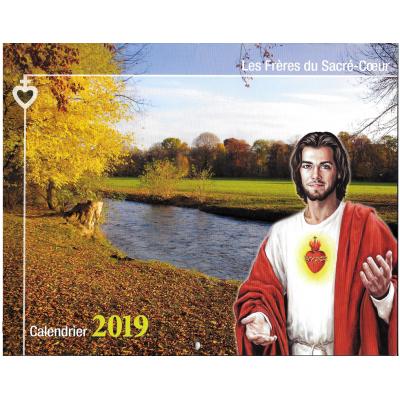 Calendrier 2019 des Frères du Sacré-Coeur