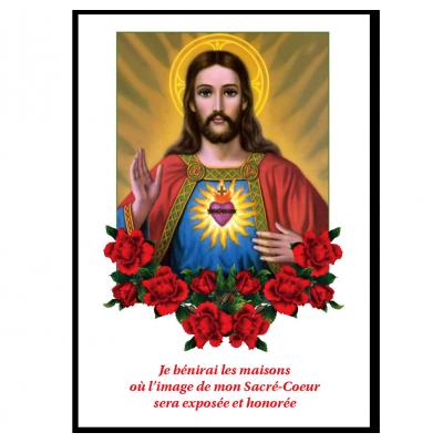 Image du Sacré-Coeur - Je bénirai les maisons...