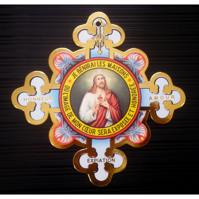 Image of the Sacred-Heart - Cruciform