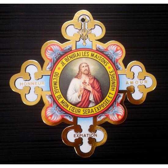 Image du Sacré-Coeur - Cruciforme